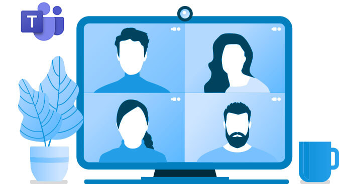 Microsoft Teams and VoIP Illustration