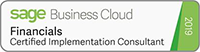 Sage Business Cloud Certified Consultant Logo