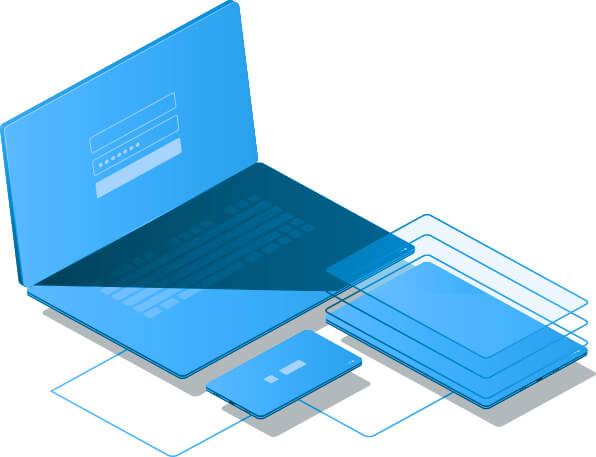 Virtual Private Network VPN Illustration
